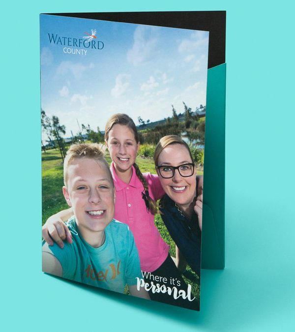 Waterford County printed collateral